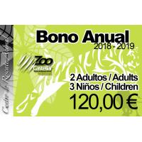 Bono Familiar 2 Adultos - 3 Niños