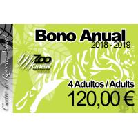 Bono Anual 4 Adultos